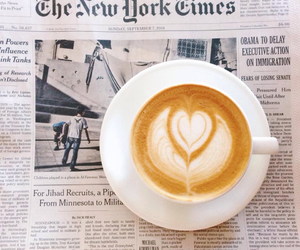 coffee, new york, and ny image