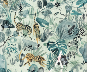 jungle, wallpaper, and animal image