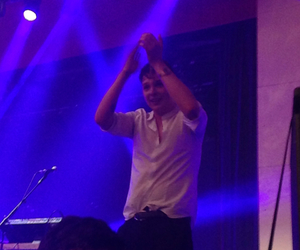 front row, john newman, and tribute image