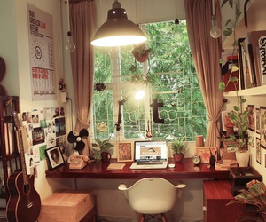 interior, workspace, and places image