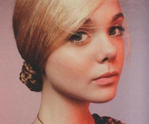 Elle Fanning, girl, and model image