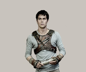 maze runner, dylan o'brien, and love image