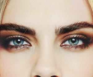 eyes, beautiful, and cara delevingne image