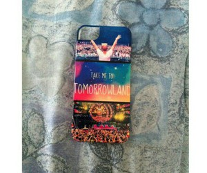 iphone, Tomorrowland, and love image