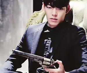 danger, kim woo bin, and korea image