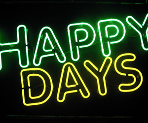 green, happy, and happy days image