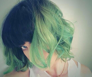 katy perry, hair, and green image