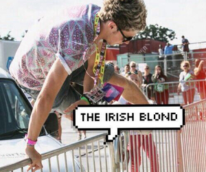 irish, 1d, and niall horan image