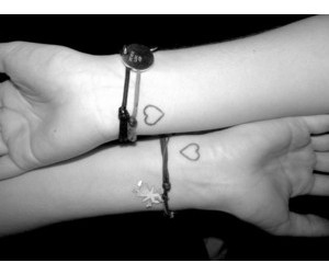 heart, love, and tattoo image