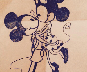 always, amor, and mickey image