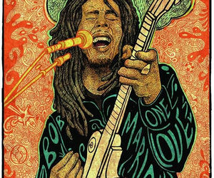 reggae, bob, and marley image