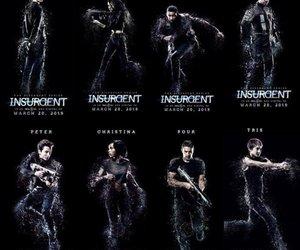 insurgent, divergent, and tris image