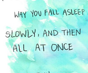 asleep, fall, and in love image