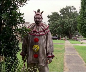 clown, crazy, and killer image
