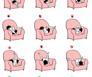 funny, position, and read image