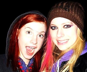 Avril Lavigne and hayley williams image