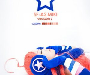 cosplay, vocaloid, and miki image