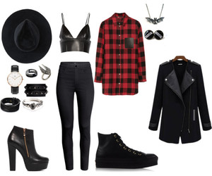 badass, converse, and Polyvore image