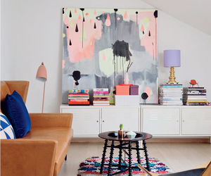 colorful, home, and interior image