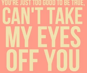 quote, eyes, and song image