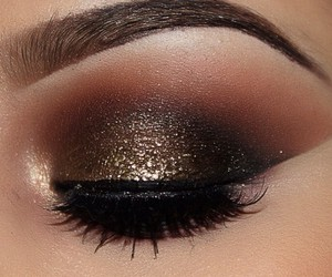 black, brown, and glitter image