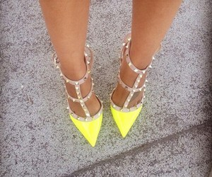 heels, shoes, and Valentino image