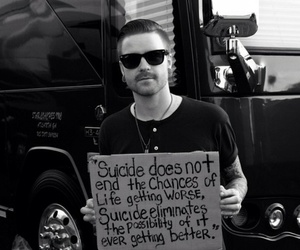 matty mullins, memphis may fire, and suicide image