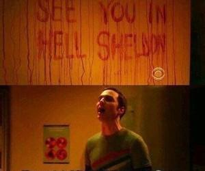 sheldon, funny, and hell image