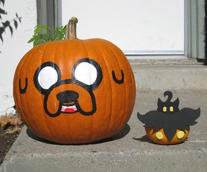 Halloween and adventure time image