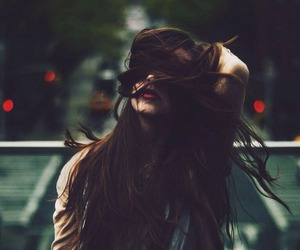 girl, hair, and grunge image