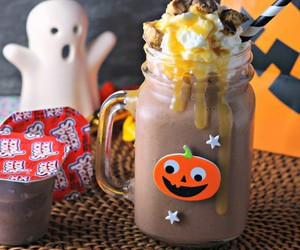 choclate, pumpkin, and ghost image