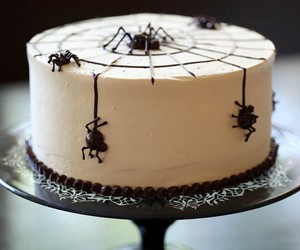 Halloween, cake, and spider image