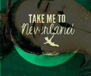 me, neverland, and peter pan image