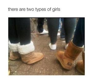girl, ugg, and lol image