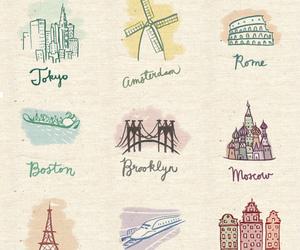 paris, rome, and tokyo image