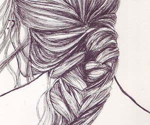 hair sketch | ✎back to the drawing board | Pinterest