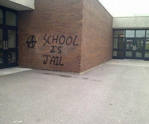 jail, prison, and school image