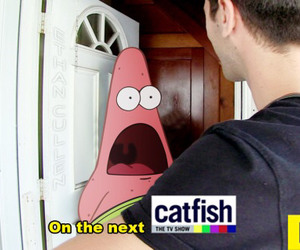 catfish, funny, and patrick image