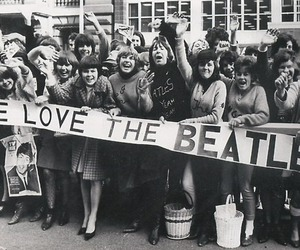 the beatles, beatles, and fan image