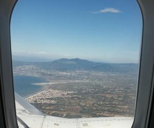 airplane, amsterdam, and Greece image