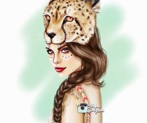 girly_m, girl, and art image