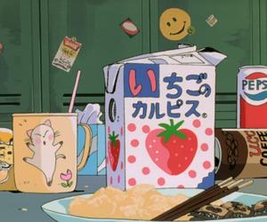anime, food, and kawaii image