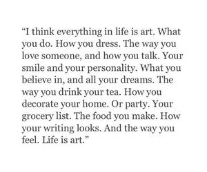 art, beauty, and books image