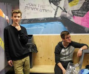 troye sivan, connor franta, and youtuber image