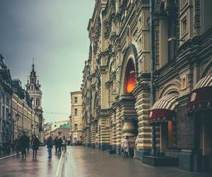 background, city, and moscow image