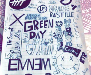 bands, eminem, and green day image