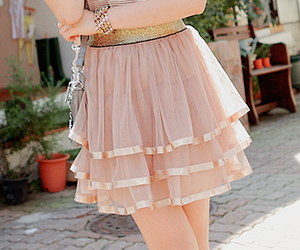girl, cute, and dress image