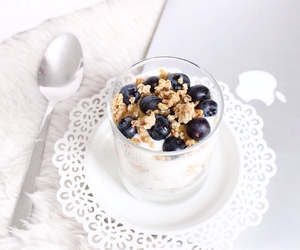blueberry, breakfast, and fruit image