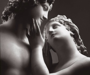 art, sculptures, and love image