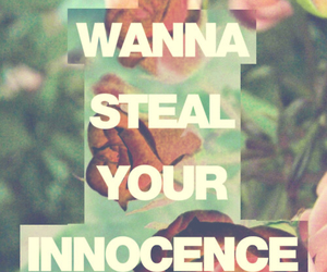 innocence, steal, and flowers image